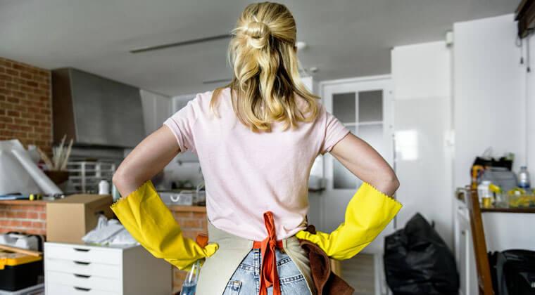mutfağı temiz ve düzenli tutmak