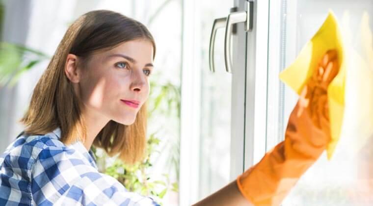 parlak camlar için pratik temizlik önerileri