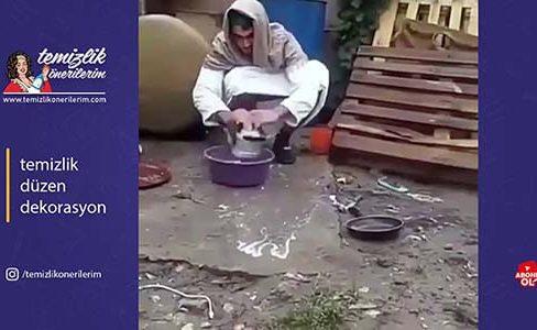 bulaşık yıkamaktan bıkanların
