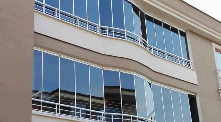 limon ile cam balkon temizliği