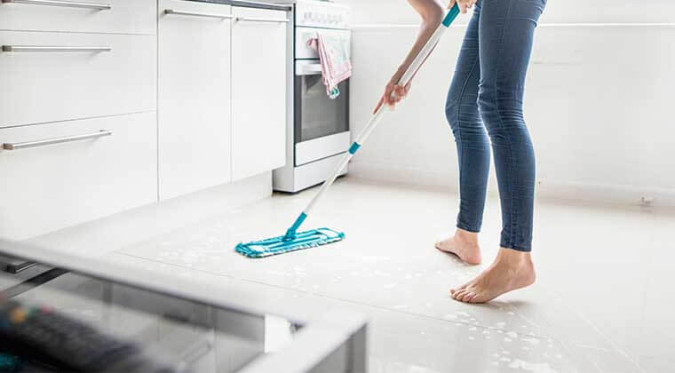 genel zemin temizliği